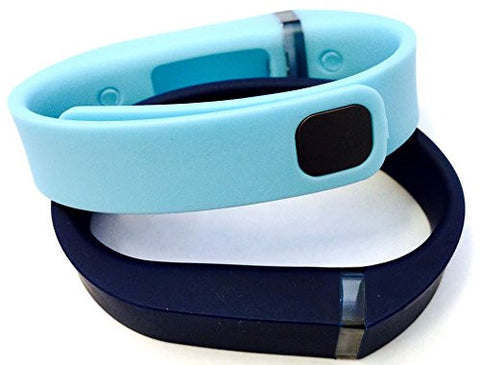 ! Small S 1pc Light Blue 1pc Navy Replacement Bands + 1pc Free Small Grey Band With Clasp for Fitbit FLEX Only /No tracker/ Wireless Activity Bracelet Sport Wristband Fit Bit Flex Bracelet Sport Arm Band Armband