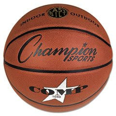 "** Composite Basketball, Official Junior, 27.75"", Brown **"