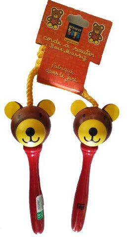 """Wooden Bear"" Jumprope (Made in France)"