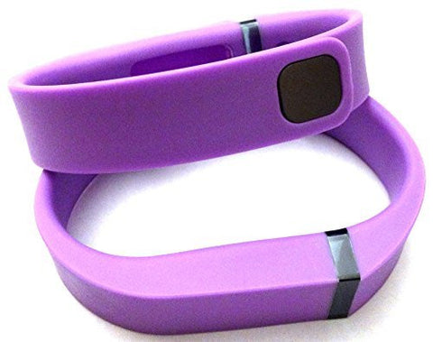 ! 2pcs Small S Violet Replacement Bands + 1pc Free Small Grey Band With Clasp for Fitbit FLEX Only /No tracker/ Wireless Activity Bracelet Sport Wristband Fit Bit Flex Bracelet Sport Arm Band Armband