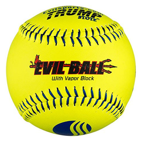 "1 Dozen Evil Ball USSSA 12"" Softballs - 40cor/.325 Compression (MP-EVIL-CLAS-Y-2) Classic M"