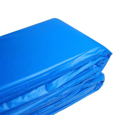 12 Foot Blue Color Anti-fungal Anti-bacterial EPE Closed-cell Foam Filled Trampoline Accessories Safety Frame Pad
