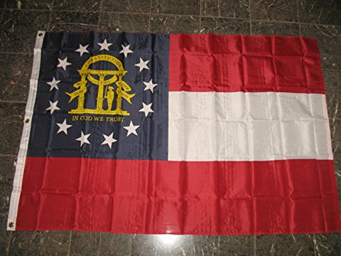 (Current) 4X6 4'X6' Poly State Flag- Seal,