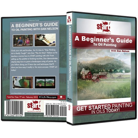 """A Beginners Guide To Oil Painting"" DVD with Dan Nelson"