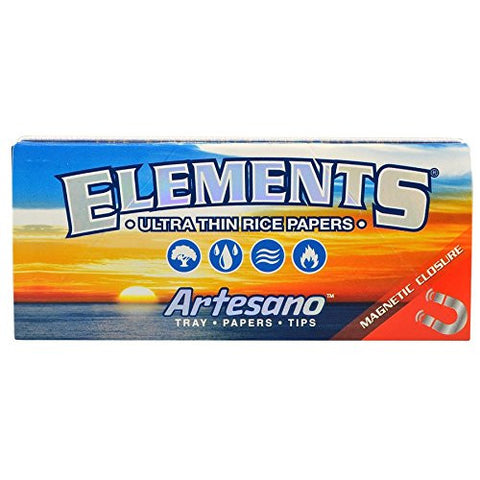 "#RP253 15pc Display - Elements_ Kingsize Slim Artesano"" Ultra 6r71vbk572 Thin Rice ku8nzabg2 Rolling Papers djuiovbdsew d34rtyi 15pc Display - Elements_ Kingsize Slim Arte"
