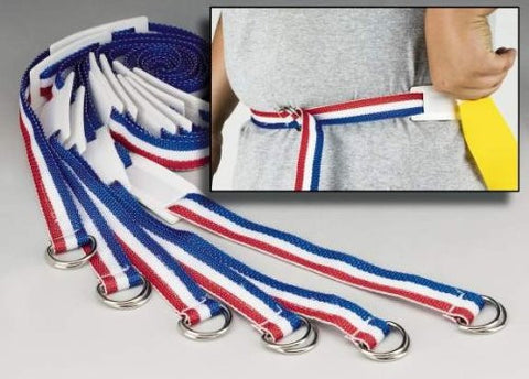 "(Price/set)Everrich EVC-0032 Flag Belt - adjustable rip - 16"" L * 1"" W - set of 6 belts, 12 flags"