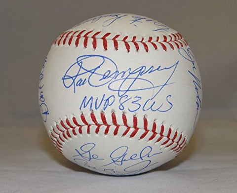 '83 Orioles WS Champs Signed Rawlings OML Baseball- JSA Authenticated