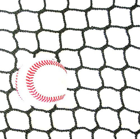 10' High X 10' Wide Sports Barrier & Containment Netting, #36 Polypro Netting, Serged Cord Edge Bordering, Baseball, Softball, Hockey, Lacrosse, Soccer, Basketball, Tennis, Volleyball, Multipurpose