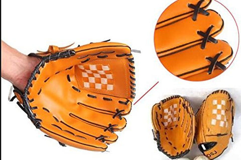 "11.5"" left hand baseball glove PU leather"