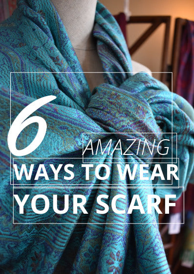 May 2018: Styling Your Scarf