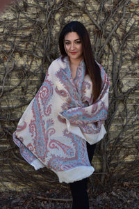Banks Of the Red Sea (Pashmina Cashmere), Pashmina- Diya Boutique Premium Scarf Boutique