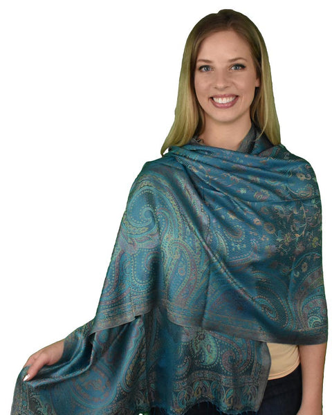 Island Breeze, Shawl- Diya Boutique Luxury Scarves and textiles