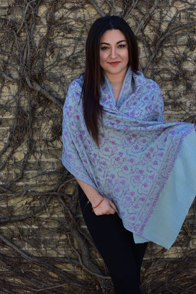 Delicate Vines, Shawls- Diya Boutique Luxury Scarves and textiles