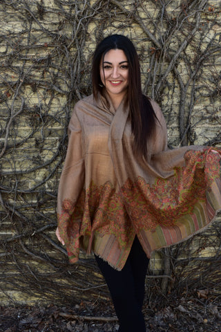 Fall Carnival, Pashmina- Diya Boutique Luxury Scarves and textiles