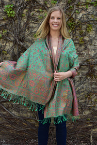 The Rainforest, Shawl- Diya Boutique Premium Scarf Boutique