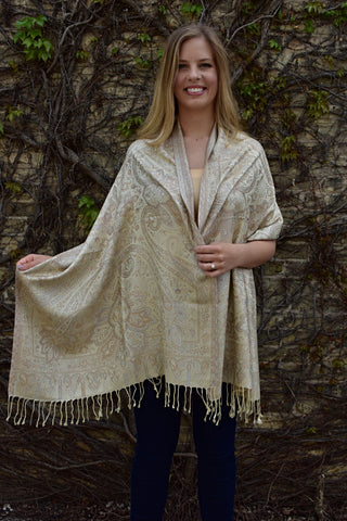 Milk & Honey, Shawl- Diya Boutique Premium Scarf Boutique