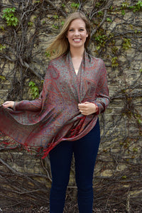 Iridescence, Shawl- Diya Boutique Premium Scarf Boutique