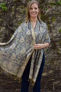 Buttercup, Shawl- Diya Boutique Luxury Scarves and textiles