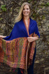 Cirque De Soleil, Shawl- Diya Boutique Luxury Scarves and textiles