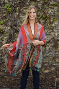 Lalapalooza, - Diya Boutique Luxury Scarves and textiles