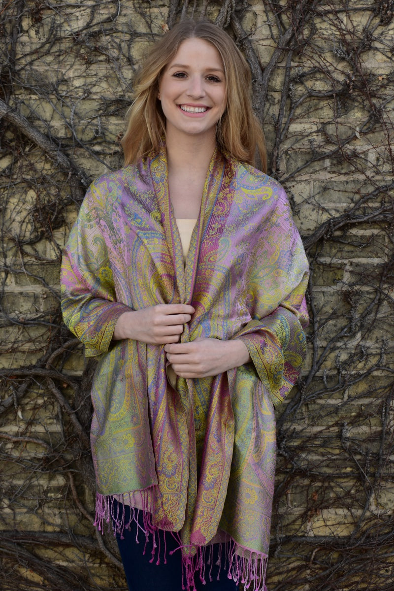 Spring Jewels, Shawl- Diya Boutique Premium Scarf Boutique