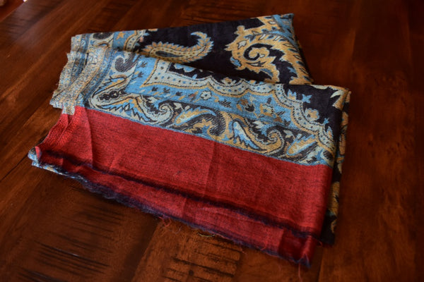 Paisley Vines, Pashmina- Diya Boutique Luxury Scarves and textiles
