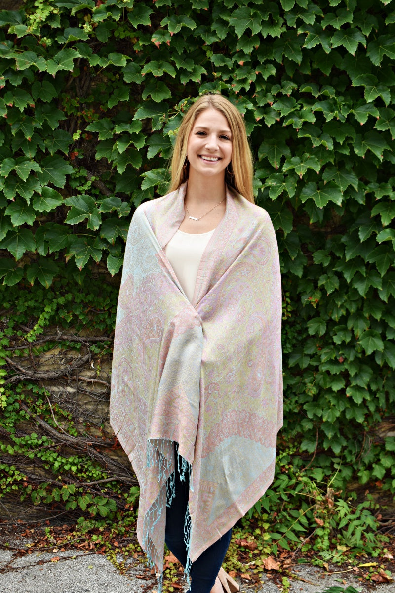 Fun and Flirty, Shawl- Diya Boutique Premium Scarf Boutique