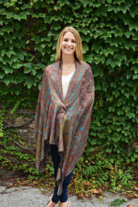 Forest Rain, Shawl- Diya Boutique Premium Scarf Boutique