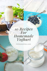 Little Mashies 10 Recipes For Homemade Yoghurt