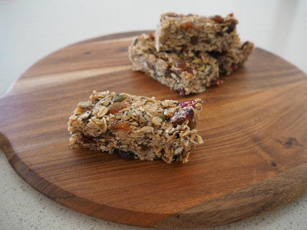 Nut Free Muesli Bars Recipe