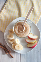Apple and Banana Baby Puree