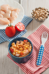 Chicken, Chickpeas and Tomato