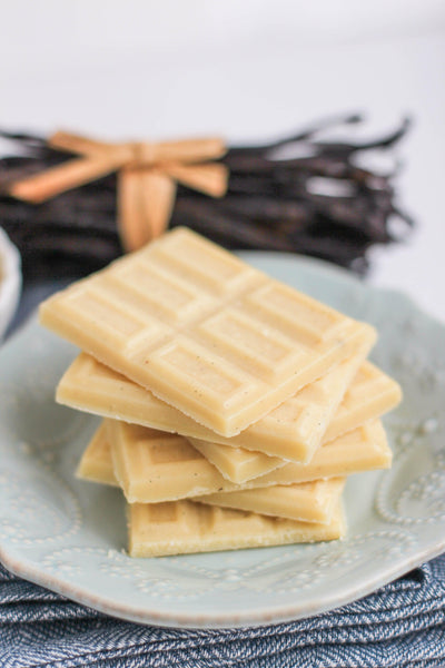 Healthy Homemade White Chocolate