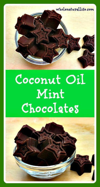 Coconut Oil Mint Chocolate