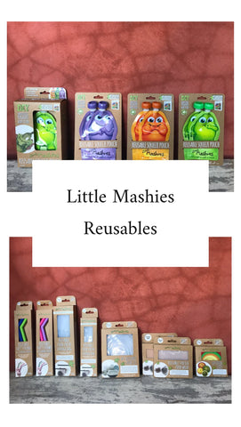 Little Mashies reusables