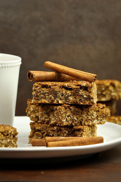 Nut-Free Cinnamon Molasses Granola Bars