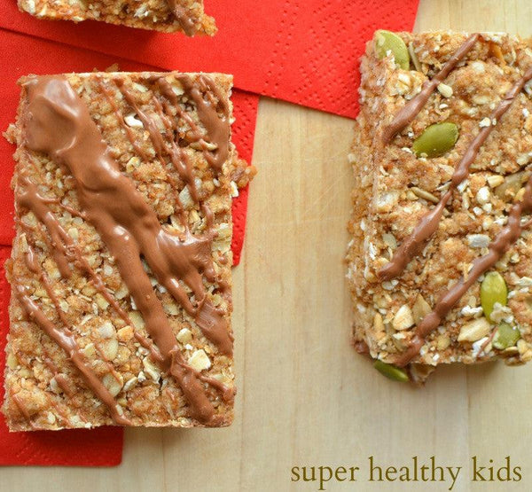 Delicious and Chewy Homemade Granola Bars for Nut-Free Kids