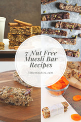Little Mashies 7 Nut Free Muesli Bar Recipes
