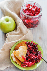 Beet Apple Cabbage Kraut