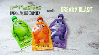 Little Mashies Breaky Blast Food Pouch Smoothie