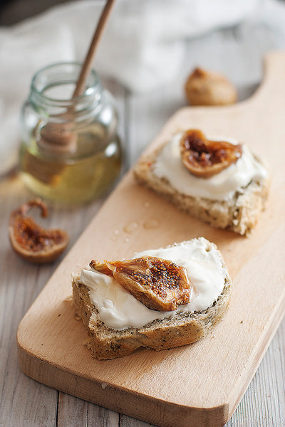 Probiotic Sweet Fig Cream Cheese