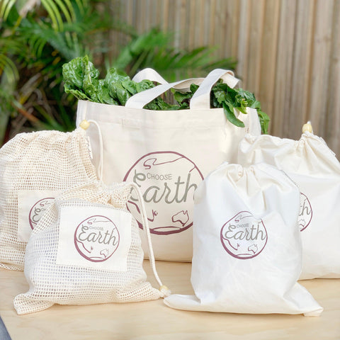 Little Mashies organic cotton bags