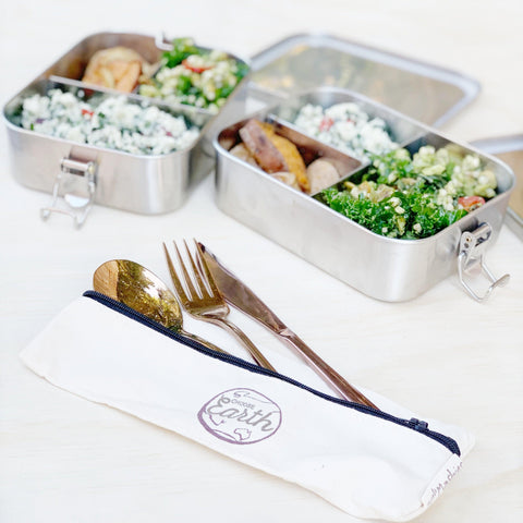 Little Mashies stainless steel leak proof lunch box