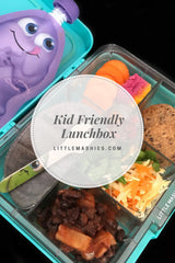 Little Mashies Kid Friendly Lunchbox