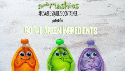 Little Mashies Go Green Food Pouch Smoothie