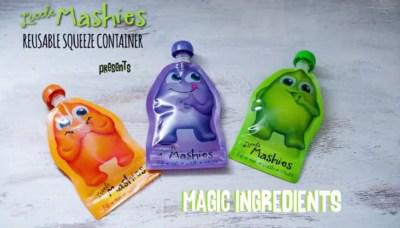 Little Mashies Island Magic Food Pouch Smoothie