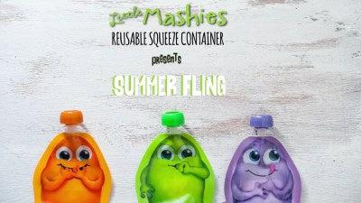 Little Mashies Summer Fling Food Pouch Smoothie