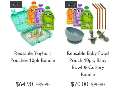 Reusable Baby Food Pouches