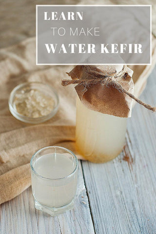 DigestiveHope Basic water kefir recipe