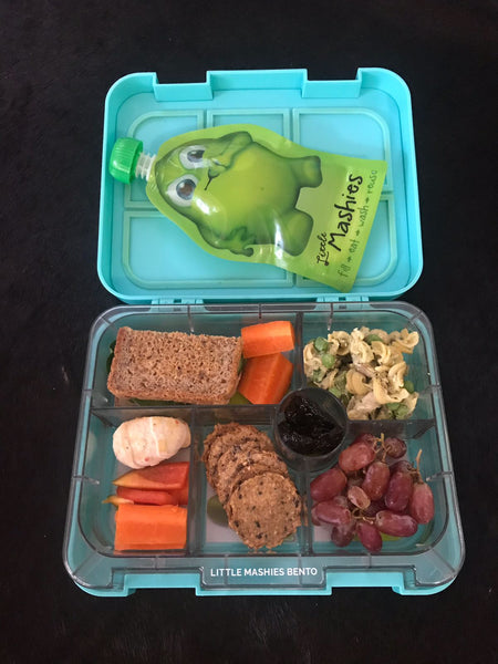 Little Mashies Quick & Healthy Lunchbox Idea